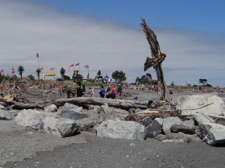 Driftwood & Sand Festival in Hokitika